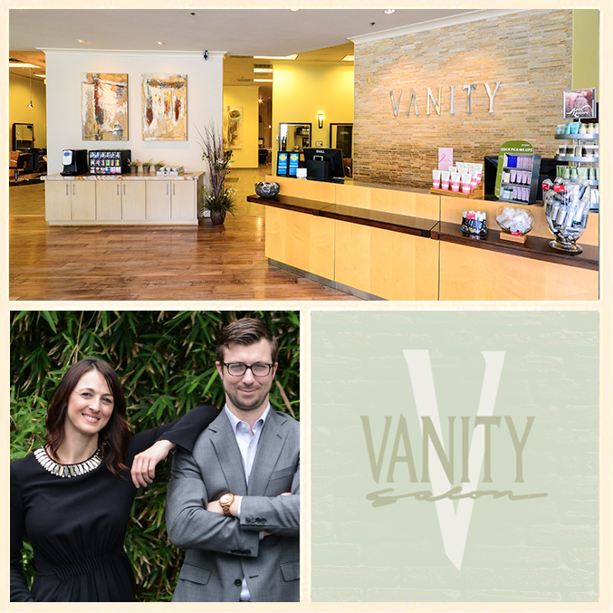 Rory & Fiona Tolunay Vanity Salon Spa Houston Collage