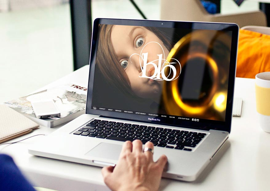 Passion Project: Blo's Innovative Website Breaks New Ground