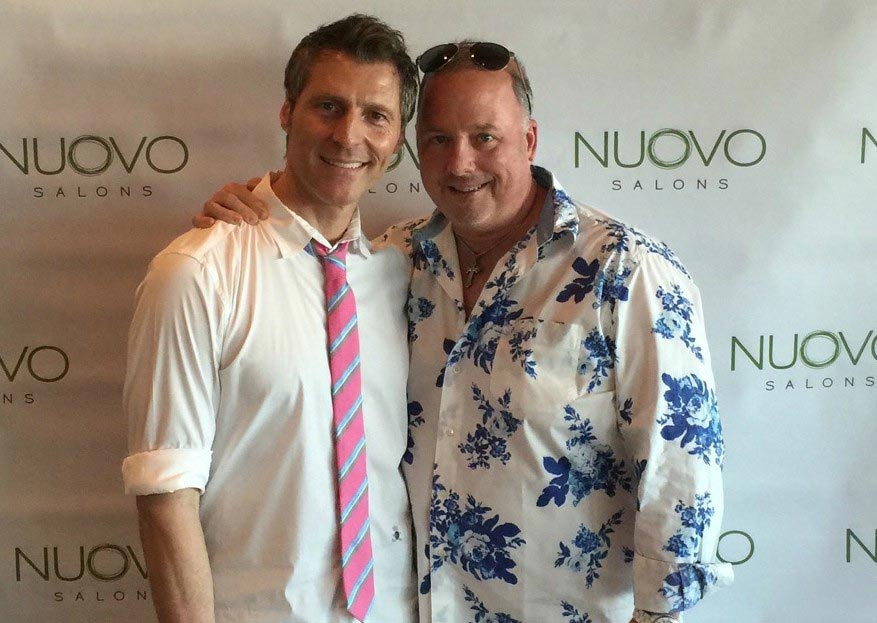 James Amato and Terry McKee, owners of Nuovo Salon & Spas in Sarasota, FL