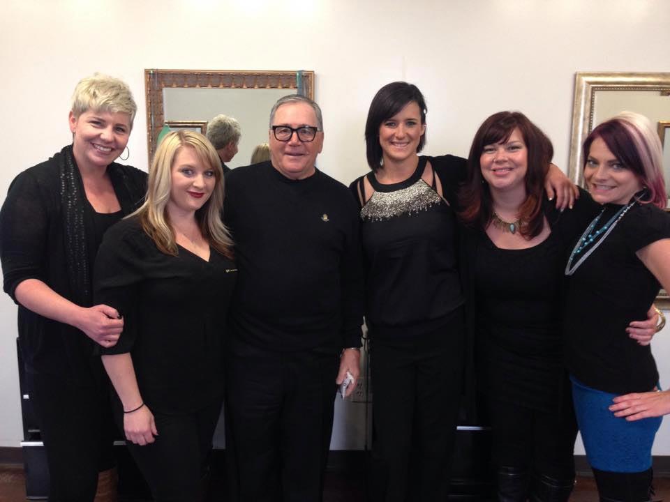 The team at Centre Salon