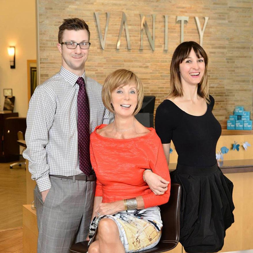 High Quality Rory, Glennis, And Fiona Tolunay Of Vanity Salon In Houston