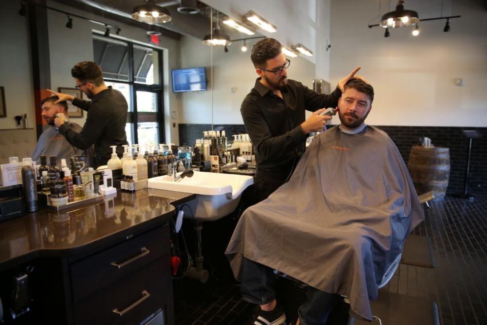 A New Grooming Destination Designed </br>for Men