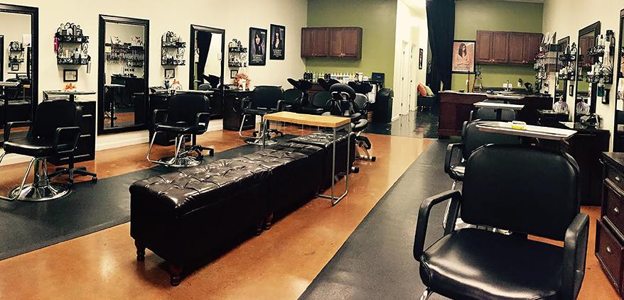 Interior of Zena, the salon that had the most referrals overall. Photo courtesy of Zena Salon Spa.