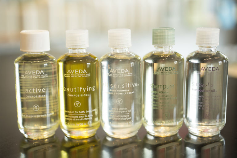 Aveda Composition™ Oils each have their own unique Aveda aroma.