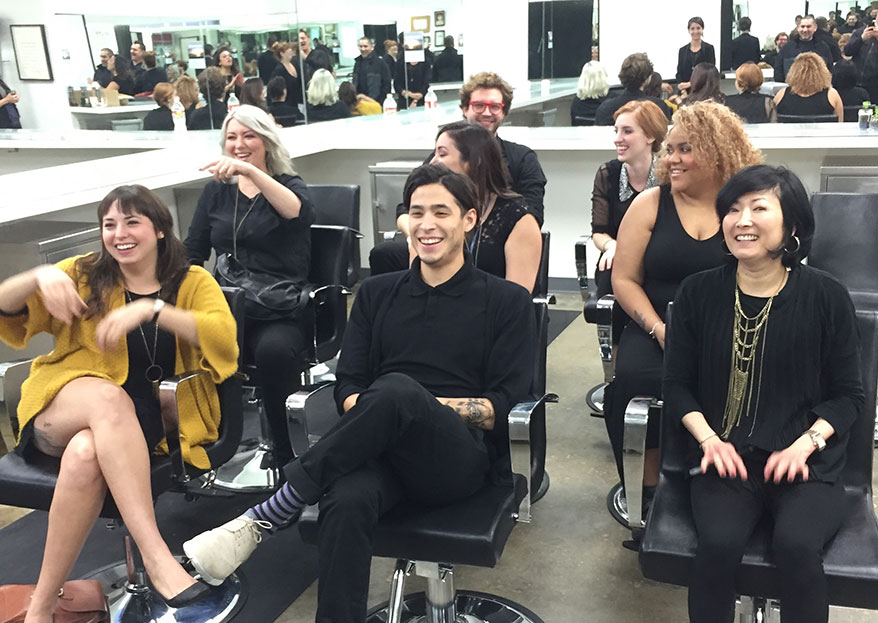 Group of Ruiz stylists | Source: Ruiz Salons