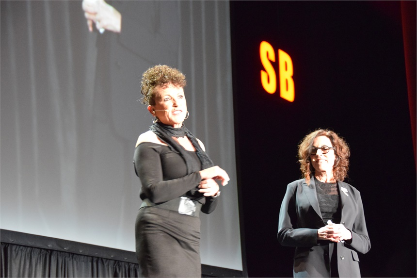 Carol Augusto and Debra Neill Baker preview the lineup of Serious Business speakers.