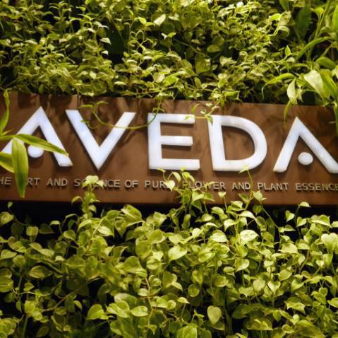 Gloss Hair Studio Aveda Sign