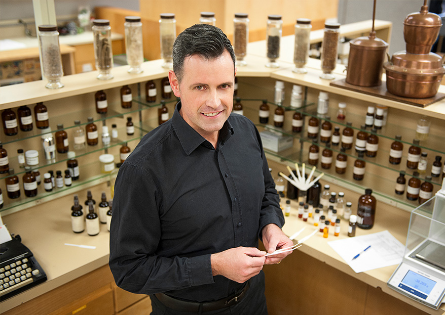 Aveda's Perfumer Guy Vincent Tells Us Why Natural Scents Are So Tricky