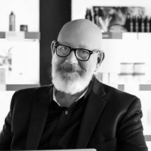 Tim Belcher, founder of Whole Aveda and educator at The Salon People's Business Academy
